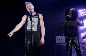 Erasure perform at the Brighton Centre
