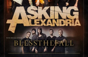 ASKING ALEXANDRIA AFICHE CHILE