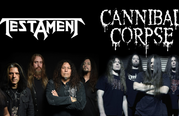 testament y cannibal corpse gira 2015