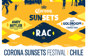 line up corona sunsets