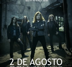 Afiche Web Megadeth
