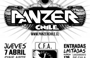 PANZER TIERRA DE METALES AFICHE LANZAMIENTO