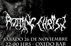 Afiche Rotting Christ web