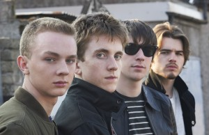 the Strypes press shoot