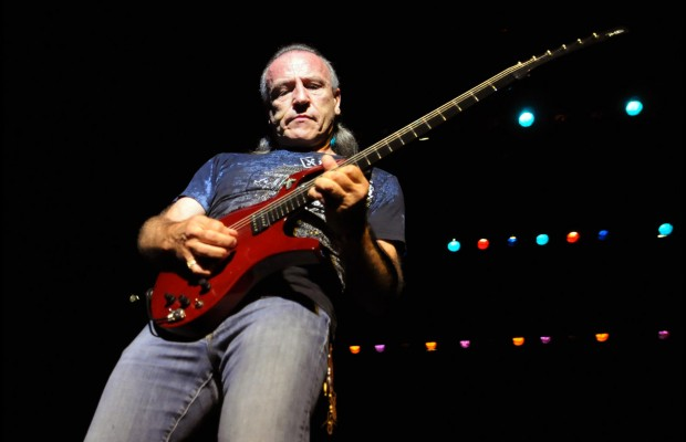 Mark Farner of Grand Funk Railroad performs during Hippiefest on Thursday, Oct. 13, 2011, at the Palace Theatre in Albany, N.Y. (Cindy Schultz / Times Union)