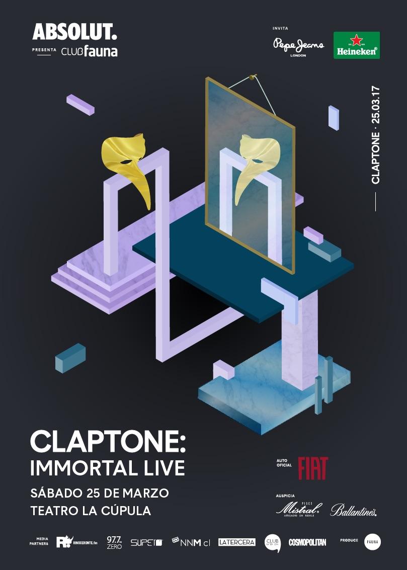 Afiche-CLAPTONE