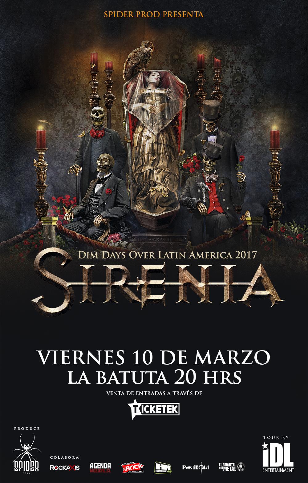Afiche Sirenia Web