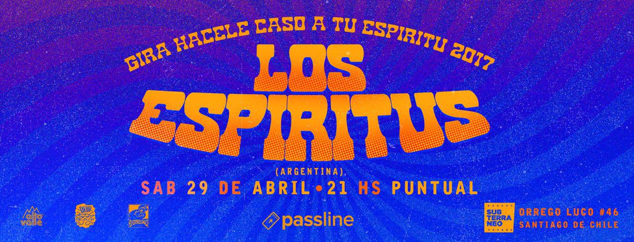 Afiche Los Espíritus En Chile